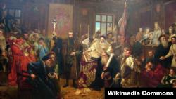 Люблінкая унія. Ян Матэйка.
