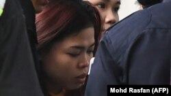Одна из подозреваемых в убийстве, гражданка Индонезии