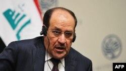 Iraqi Prime Minister Nuri al-Maliki in Washington, DC.