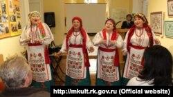 Святкування п'ятиріччя Музею української вишивки імені Віри Роїк, Сімферополь