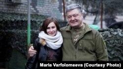 Мария Варфоломеева и Петр Порошенко ожидают освобождения пленных
