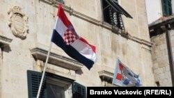 Знаме на Хрватска