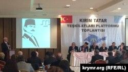 Türkiye qırımtatar teşkilâtlarınıñ platforma toplaşuvı, aprel 4 künü