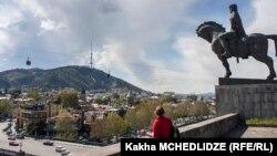 Վրաստան - Տեսարան մայրաքաղաք Թբիլիսիից, արխիվ