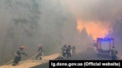 У ДСНС повідомили про трьох жертв пожежі у Луганській області