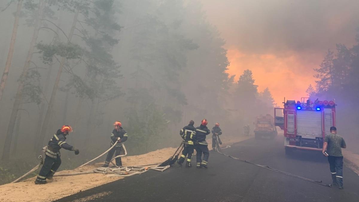 ГБР провело обыски в управлении ДСНС по делу о пожаре на Луганщине