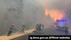 До місця пожеж прибула підмога з чотирьох областей