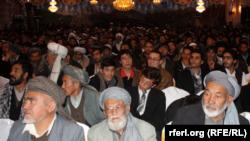 Избирательная кампания в Кабуле, 2 февраля 2014 года.