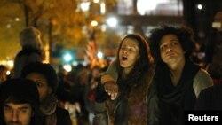 معترضان «وال استریت را اشغال کنید» در نیویورک