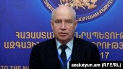 ԱՊՀ դիտորդական առաքելության ղեկավար Սերգեյ Լեբեդև