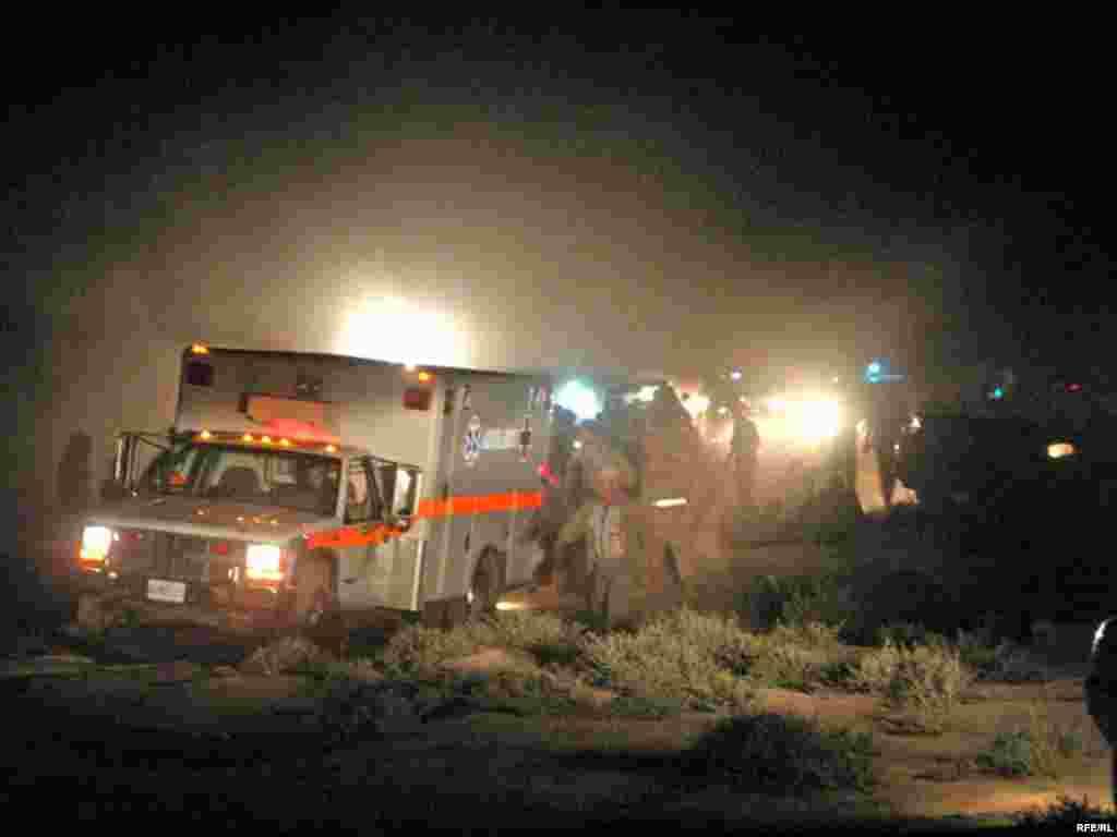 Спасательные работы у останков Бонг -737, 24 августа 2008