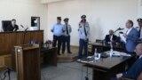 Роберт Кочарян выступает в суде, Ереван, 16 мая 2019 г.