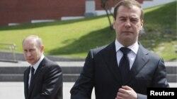 Владмир Путин и Дмитрий Медведев