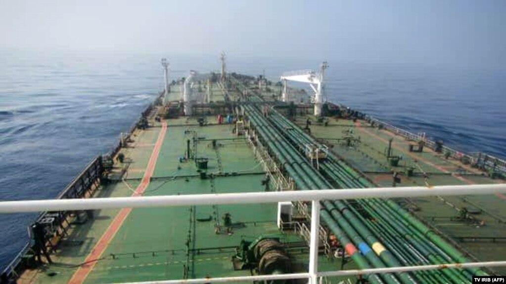 یک تانکر نفتی ایران در دریای سرخ (عکس از آرشیو)