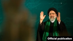 The new head of Iran's Judiciary, Ebrahim Raeesi, 2019.