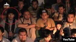 """Скриншот видео о """"джихадистах Казахстана в Сирии""""."""