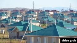 Поселок для оралманов, возведенный под Усть-Каменогорском по программе «Нурлы кош».