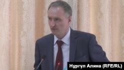 Антон Федяев, Солтүстік Қазақстан облысы әкімінің орынбасары. Петропавл, 18 сәуір 2018 жыл.