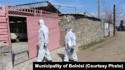 В закрытых на карантин Марнеули и Болниси ведется проверка населения