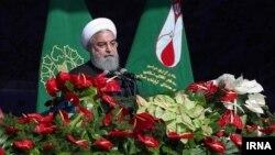 حسن روحانی گفت که «آزادی احزاب، رسانه و بیان در ایران وجود دارد»