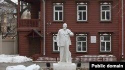Казань. Мемориальный дом-музей В.И.Ленина незадолго до открытия после реконструкции