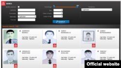 A 2015 Interpol list of Tajik citizens who joined Islamic State.