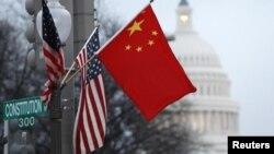 Zastave Kine i SAD
