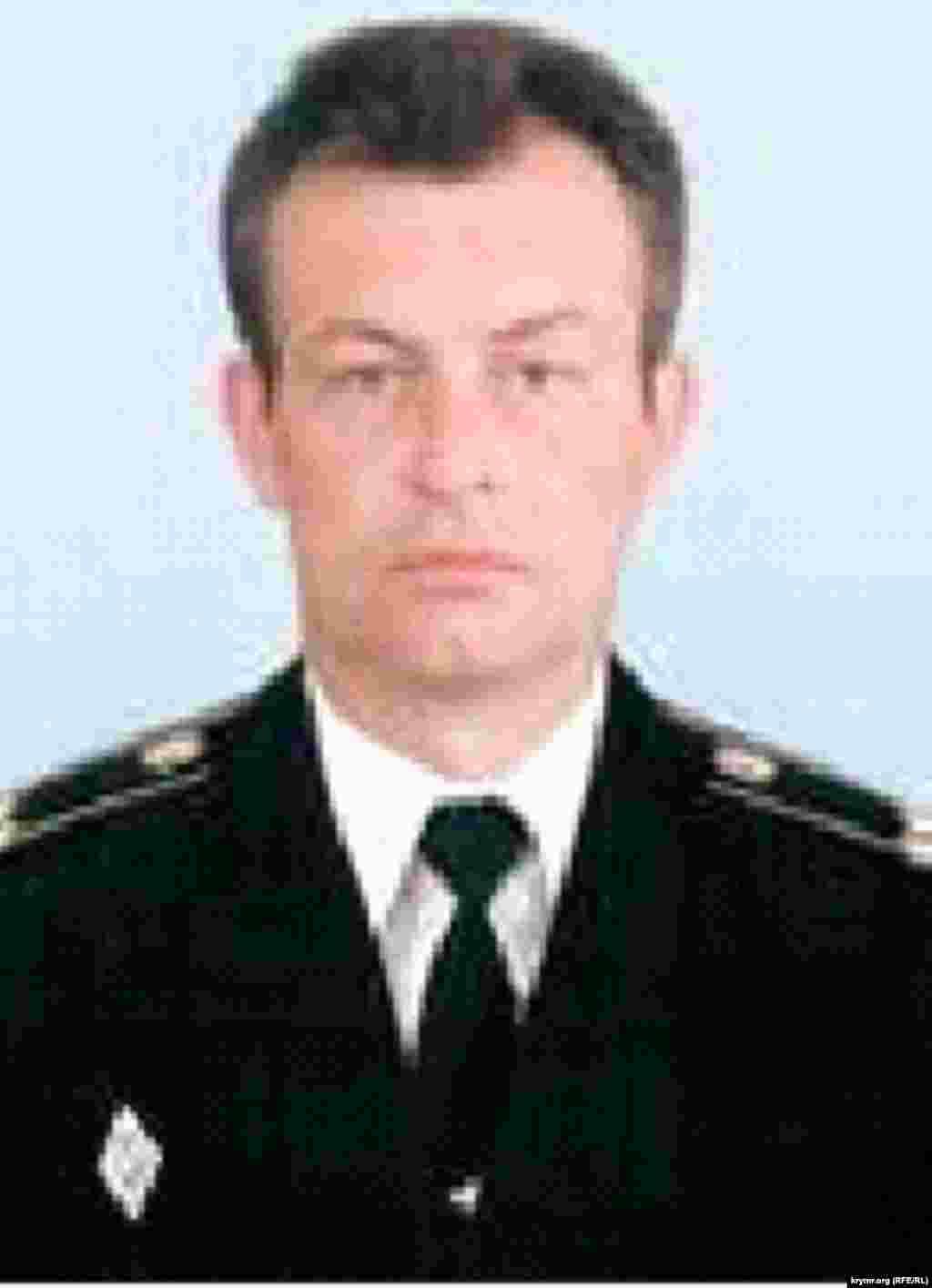 Игорь Поддубный - сотрудник ФСБ в российской ФМС Крыма