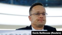 Ministar spoljnih poslova i trgovine Mađarske Peter Sijarto