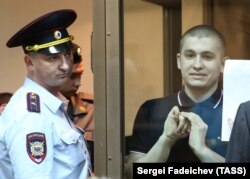 Алексей Полихович в суде