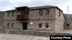 Родната куќа на основоположникот на современиот македонски јазик, академик Блаже Конески во село Небрегово.