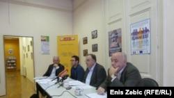 Konferencija za novinare SDF-a, Zagreb, listopad 2013.
