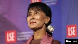 Аунг Сан Су Чӣ-раҳбари мухолифини ҳукумати Мянмар