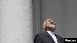 Міністар замежных справаў Ірану Мухаммад Джавад Зарыф на перамовах у Вене