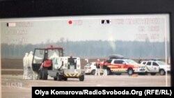 Зустріч літака з евакуйованими з Уханю в аеропорту «Бориспіль», 20 лютого 2020 року