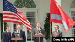 Назарбаев және АҚШ-тың бес президенті