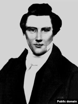 Мормондардың алғашқы рухани жетекшісі Джозеф Смит (Wikipedia-дан алынған сурет).