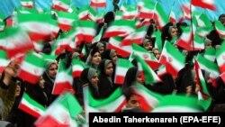 د ایران د اسلامي انقلاب د کلیزې د لمانځني یو انځور