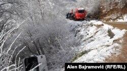 Saobraćajna nesreća u BiH u kojoj je poginulo troje ljudi, 12. januar 2015.