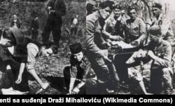 'Komunisti, za razliku od suprotstavljenog antifašističkog pokreta na čijem je čelu bio pukovnik, a kasnije general Draža Mihajlović, od prvog trenutka računaju sa celim jugoslovenskim prostorom i svim narodima. Zbog toga su pobedili na kraju rata.' (Fotografija: četnici i partizani u vrijem II svetskog rata)
