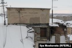 Остатки дома №164 по Карла Маркса в Магнитогорске