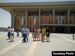 По программе МАСА стипендиаты посетили Кнессет – парламент Израиля. Фото из личного архива Надежды Золотаревой