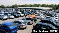 Бишкектеги унаа базар