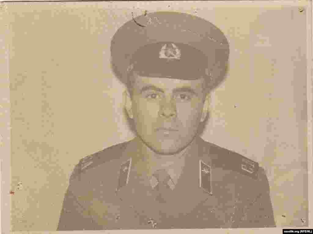 Даврони хидмати аскарӣ дар Хабаровск(соли 1978)