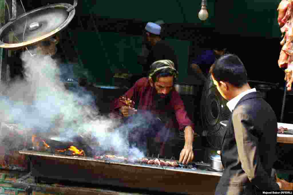 Barbecued lamb is a favorite local delicacy.