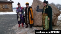 Госьці з Польшчы апрануліся ў шляхецкія строі