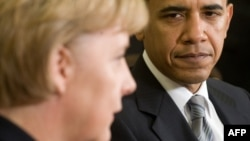 Барак Обама, Анґела Меркель