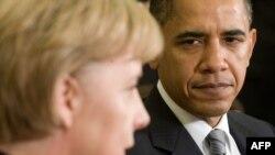 Barack Obama o primeşte la Casa Albă pe Angela Merkel