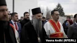 Митрополитот Порфириј беше избран за нов патријарх на Српската православна црква, Белград, 18 февруари 2021 година.