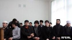 Обвиненные в незаконной пропаганде идей салафизма на скамье подсудимых. 2010 год